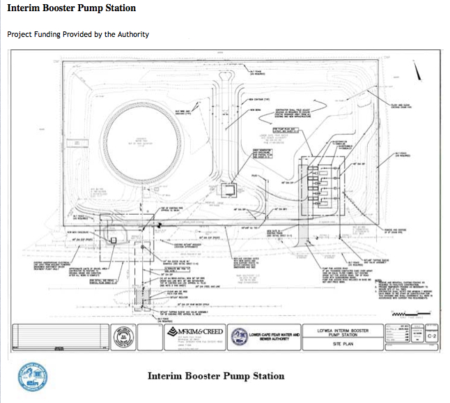 Interim Booster Pump Station - Project Funding Provided by the Authority