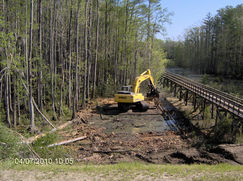 "Kings Bluff Phase II - New 60"" intake pipe to the Cape Fear River"