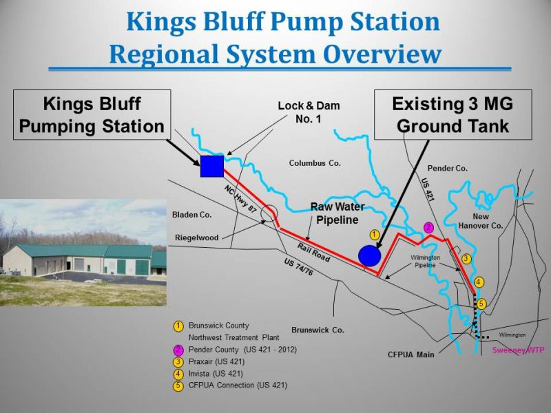 Kings Bluff System Overview