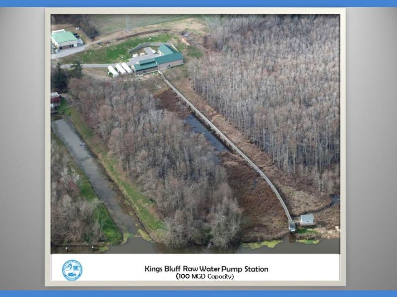 Kings Bluff Aerial View