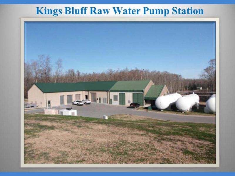 Kings Bluff Raw Water Pump Station
