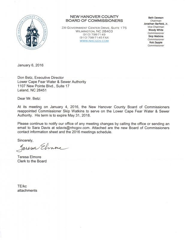 Watkins Reappointment Ltr